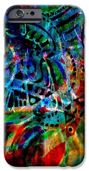 Turmoil iPhone Case by WBK