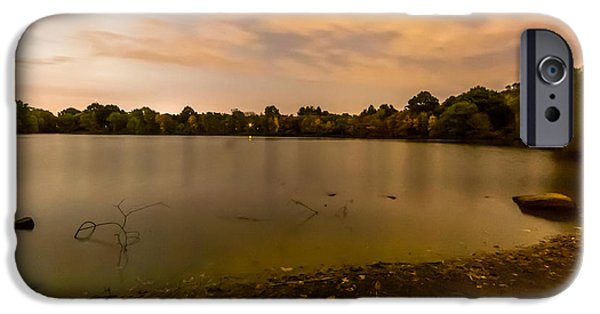 Recently Sold -  - Boston iPhone Cases - Turners Pond after Dark iPhone Case by Brian MacLean