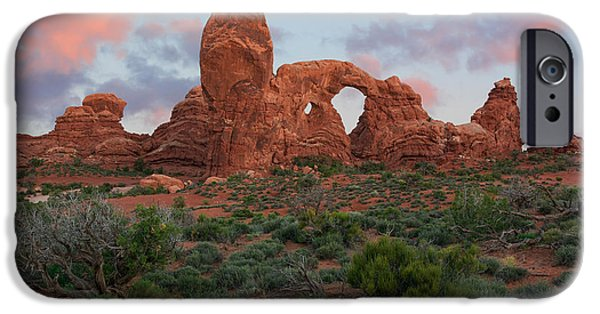 United iPhone Cases - Turret Arch iPhone Case by Aaron Spong