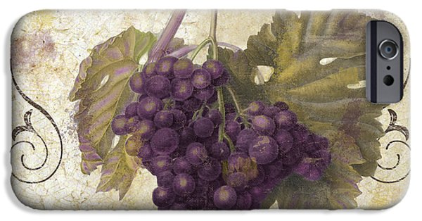 Red Wine iPhone Cases - Tuscan Table Merlot iPhone Case by Mindy Sommers