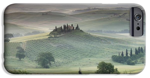 Color Field iPhone Cases - Tuscany iPhone Case by Tuscany