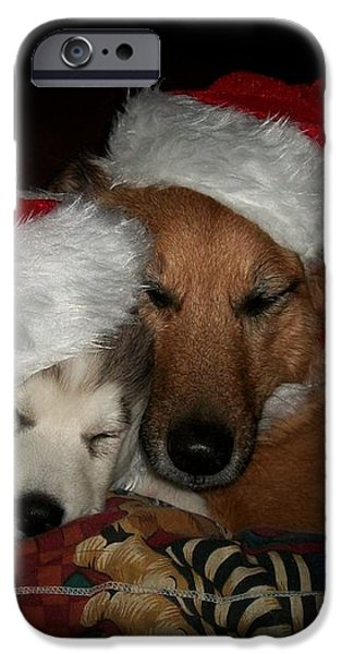 Twas the Night before Christmas iPhone Case by Marjorie Imbeau