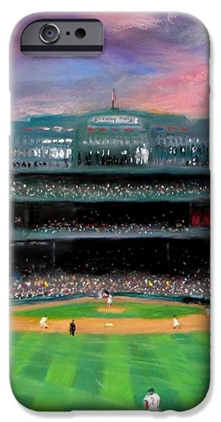Twilight at Fenway Park iPhone Case by Jack Skinner