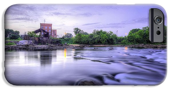 Grist Mill iPhone Cases - Twilight on the Chattahootchee iPhone Case by JC Findley