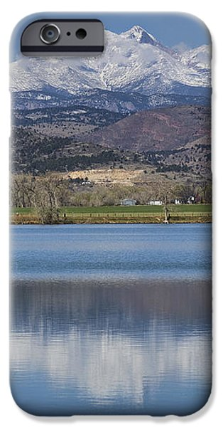 Twin Peaks McCall Reservoir Reflection iPhone Case by James BO  Insogna