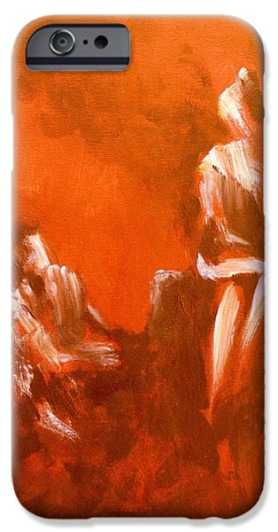 Piano iPhone Cases - Two on the Piano iPhone Case by James Taylor