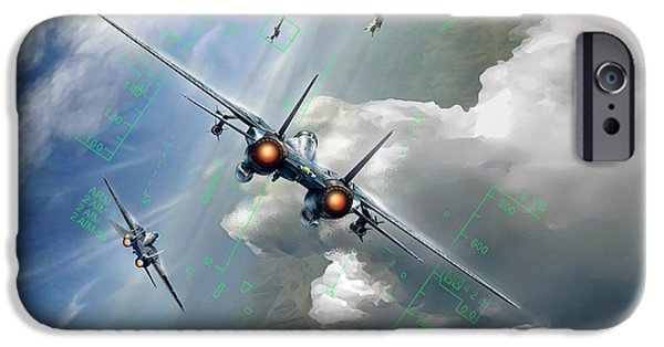 Wwi iPhone Cases - Two Vee Two iPhone Case by Peter Van Stigt