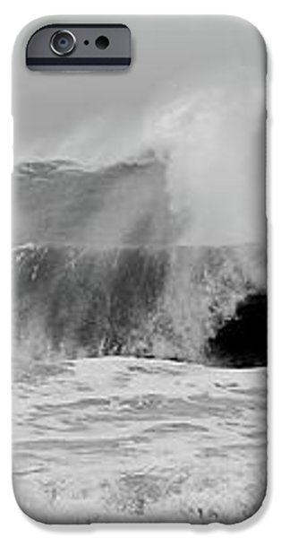 Two Waves Are Better Than One - Jersey Shore iPhone Case by Angie Tirado