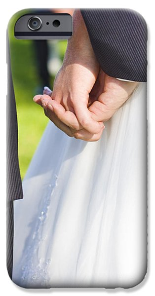 Bonding iPhone Cases - Tying The Knot iPhone Case by Ryan Jorgensen