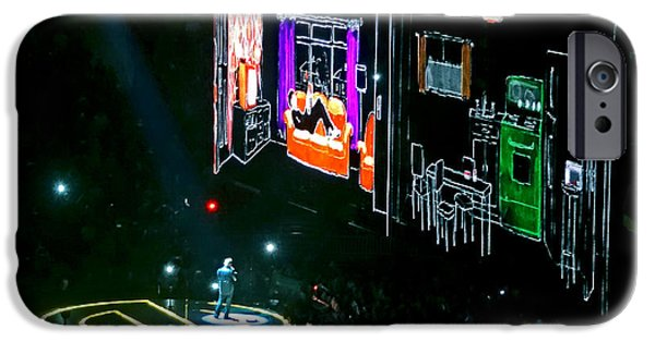 Recently Sold -  - Innocence iPhone Cases - U2 Innocence And Experience Tour 2015 Opening At San Jose. 5 iPhone Case by Tanya Filichkin