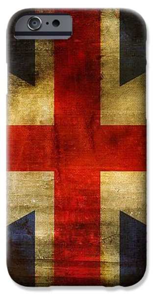 UK Flag iPhone Case by Brett Pfister