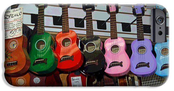 Ukelele iPhone Cases - Ukeleles For Sale iPhone Case by Suzanne Gaff