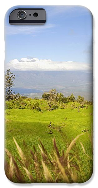 Ulupalakua Landscape iPhone Case by Ron Dahlquist - Printscapes