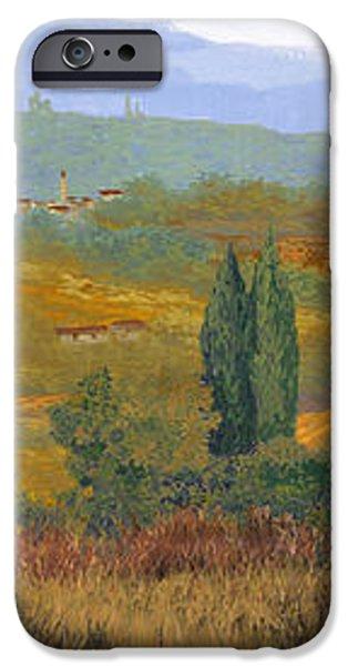 un altro pomeriggio in Toscana iPhone Case by Guido Borelli