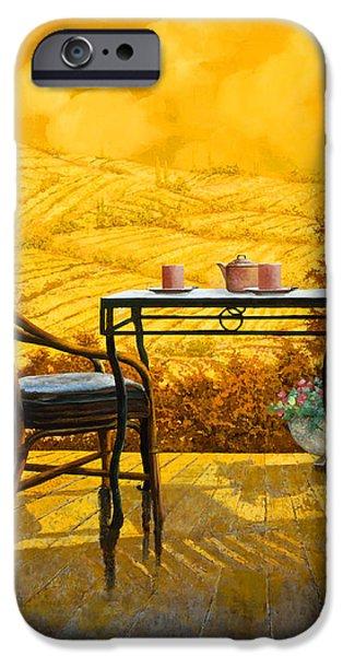 un caldo pomeriggio d iPhone Case by Guido Borelli