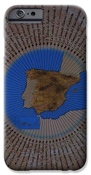 Spanien iPhone Cases - Una Seleccion Especial ... iPhone Case by Juergen Weiss