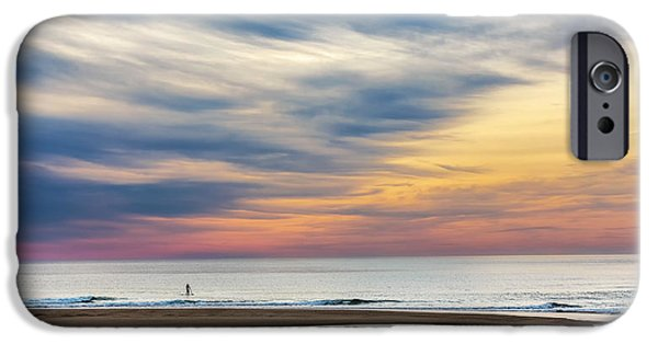 Minimalism iPhone Cases - Under A Big Sky iPhone Case by Bill Wakeley