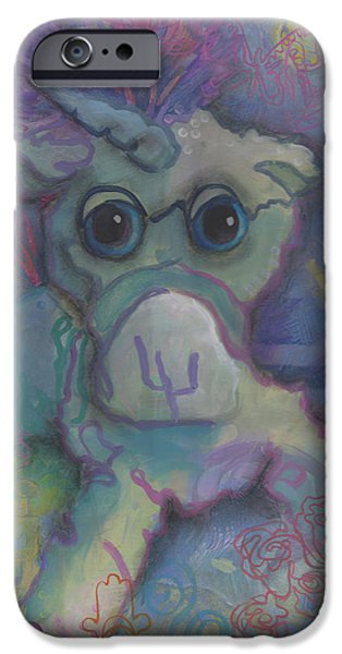 Year iPhone Cases - Under a Van Gogh Sky iPhone Case by Kimberly Santini