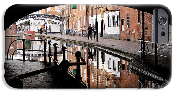 Canal Street Line iPhone Cases - Under The Arches iPhone Case by John Chatterley