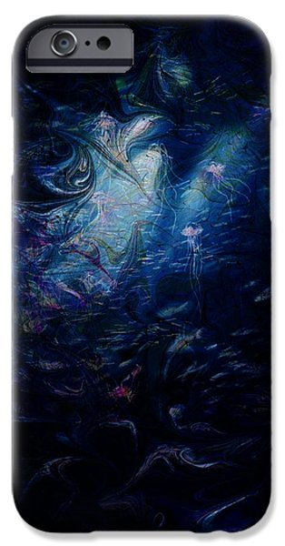 Under the Sea iPhone Case by Rachel Christine Nowicki