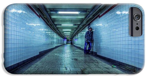 Subways iPhone Cases - Underground Inhabitants iPhone Case by Evelina Kremsdorf
