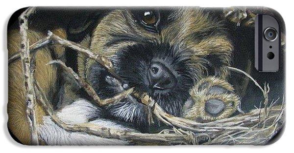 Breeder iPhone Cases - Underground pup iPhone Case by Daniele Trottier