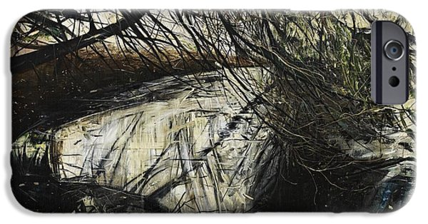 Overhang iPhone Cases - Undergrowth iPhone Case by Calum McClure