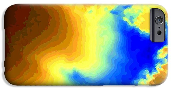 Fury iPhone Cases - Undersea Volcano iPhone Case by Will Borden