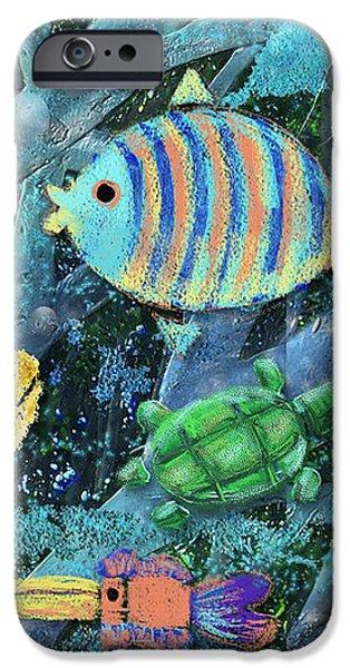 Underwater Maze iPhone Case by Arline Wagner
