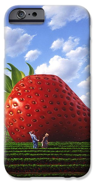 Large iPhone Cases - Unexpected Growth iPhone Case by Jerry LoFaro