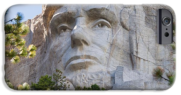 President iPhone Cases - Unfinished Lincoln 2 iPhone Case by John Bailey