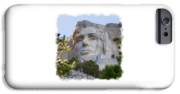 President iPhone Cases - Unfinished Lincoln 3 iPhone Case by John Bailey