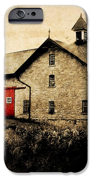 UNI Barn iPhone Case by Julie Hamilton