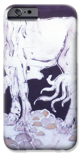 Unicorn Pauses iPhone Case by Carol  Law Conklin