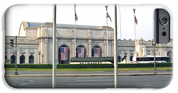 District Columbia Photographs iPhone Cases - Union Station Washington DC iPhone Case by Douglas Barnett