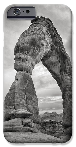 Nature Study iPhone Cases - Unique Delicate Arch iPhone Case by Adam Romanowicz