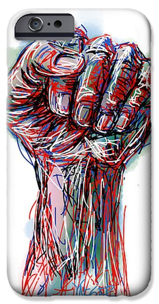Fourth Of July iPhone Cases - United America iPhone Case by Robert Yaeger