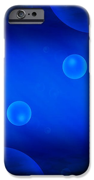 Universe in Blue iPhone Case by Mike McGlothlen