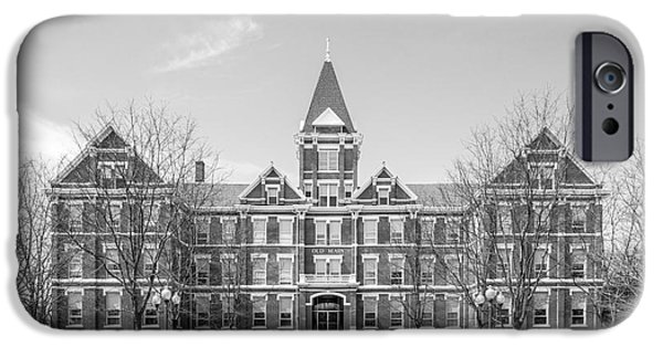 Building iPhone Cases - University of Findlay Old Main iPhone Case by University Icons