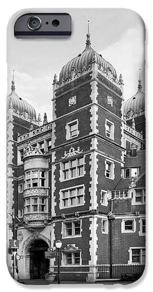 University of Pennsylvania The Quadrangle iPhone Case by University Icons