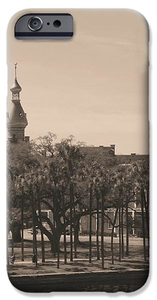 University of Tampa with Old World Framing iPhone Case by Carol Groenen
