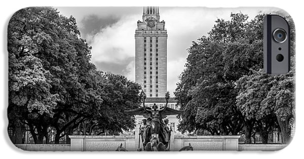 Special Occasion iPhone Cases - University of Texas Austin Littlefield Fountain iPhone Case by University Icons