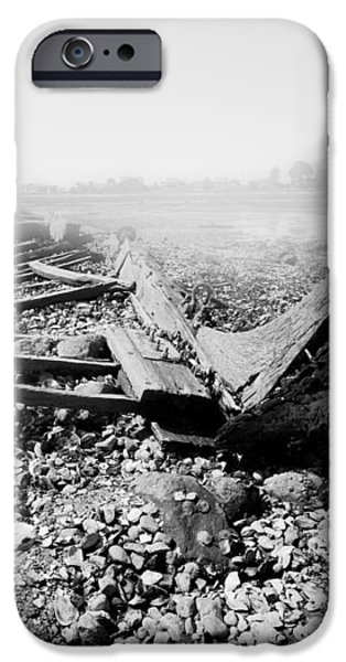 Unknown Shipwreck  iPhone Case by Dapixara Art