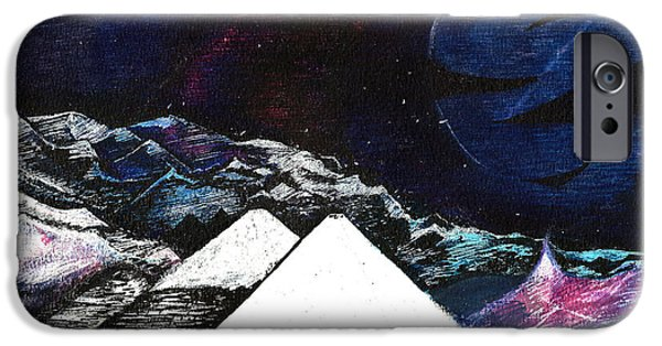 Snow iPhone Cases - Unnamed iPhone Case by Phi Z