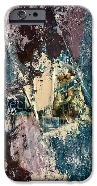 Netting Mixed Media iPhone Cases - Unseen iPhone Case by Yourstrulyjuli  Photography and Art