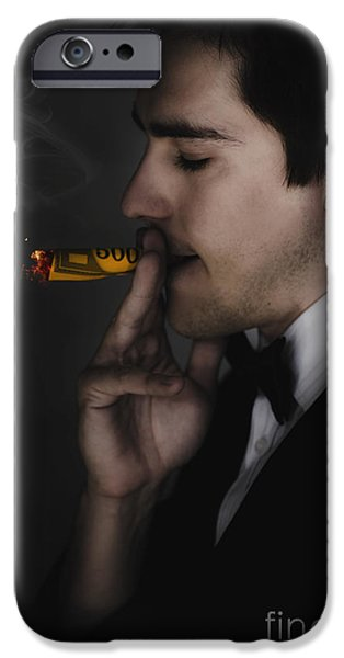 Profligate Spending iPhone Cases - Unsustainable Excess Consumption iPhone Case by Ryan Jorgensen