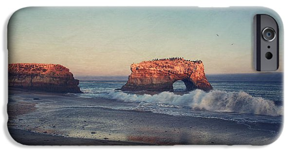 Santa Cruz Ca iPhone Cases - Until the Good is Gone iPhone Case by Laurie Search