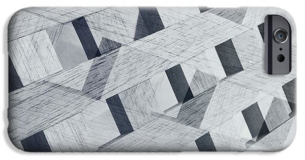 Geometric Effect iPhone Cases - Untitled 20150822 iPhone Case by Marco Oliveira