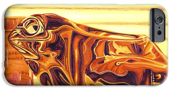 Amphibians iPhone Cases - Untitled iPhone Case by Judy Henninger
