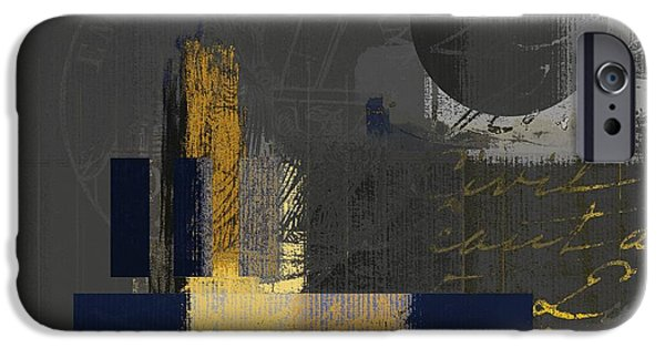 Contemporary Abstract iPhone Cases - Urban Artan - spsp11 iPhone Case by Variance Collections